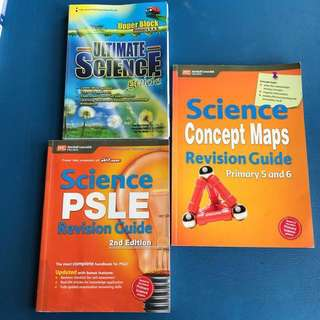 PSLE Science revision/referece