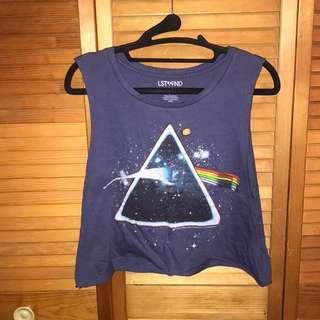 Pink Floyd Cropped Muscle Tee