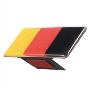 German Flag front Grille Emblem