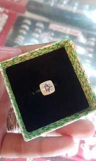 92.5 Sterling Silver Tiffany & Co. Inspired Ring
