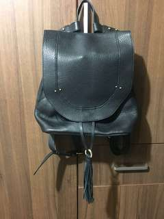 Sanctuary Leather Back Pack