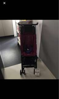Brand New Reclined Cocolatte Geoby Pockit Stroller