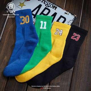 Inspired NBA player socks