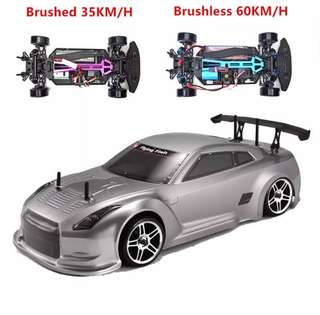 HSP 94123 RC Racing Car 1:10 Electric Power 4wd On Road Drift Brushless FlyingFish 94123Pro High Speed Hobby Remote Control Car