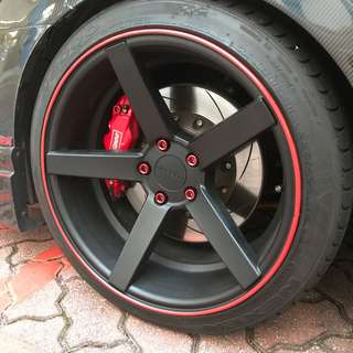 Installation available! Car Wheel Rubber Rim Protector!
