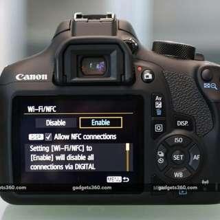 Canon EOS 1300D 18-55mm f3.5-5.6 IS II Kredit tanpa DP proses cepat