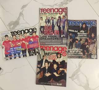 One Direction & Ariana magazines