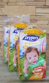 BN Drypers Drypantz XL