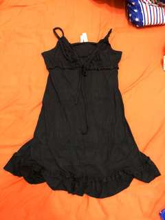 🚚 歐美睡衣品牌 Ambrielle 黑色睡衣 可調細肩 Victoria's