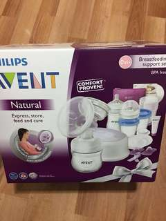 Philips 3in1 breast feeding support pump set