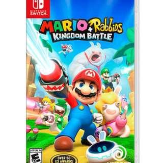 Mario Rabbids Kingdom Switch