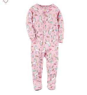 *18M* Brand New Carter's Snug Fit Cotton PJs For Baby Girl