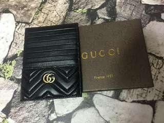 GUCCI money clip/card holder