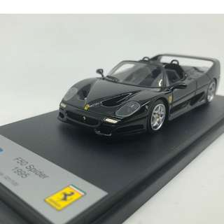 全新絕版 1:43 BBR Model Ferrari F50 Spider Black BBR78E
