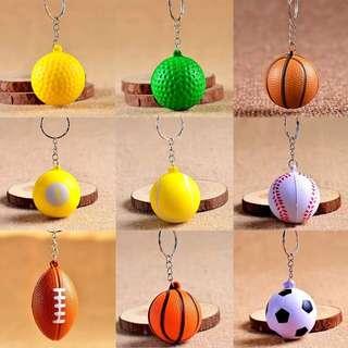 209-Assorted Balls Keychain
