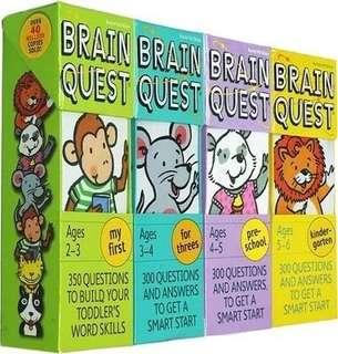 Brain Quest 4sets