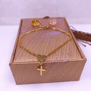 faith love wealth bracelet