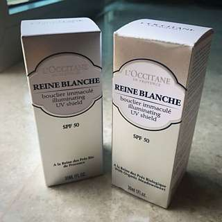 L'Occitane Riene Blanche Illuminating UV Shield SPF50