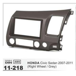 Honda Civic FD Double Din Touchscreen Headunit Radio Bracket!
