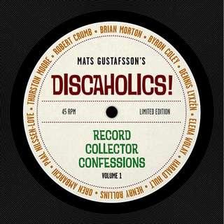 "Mats Gustafsson - Discaholics! (Marhaug Forlag Book+ Vinyl 7"" EP)"