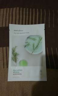 Innisfree my real squeeze mask (tea tree)