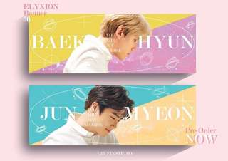 EXO Universe Slogan Banner