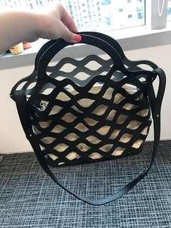 全新仿真皮女裝手袋 woman's bag faux leather 100% new