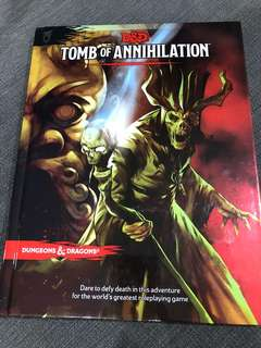 For sale Dungeons and Dragons Tomb of Annihilation 5th edition