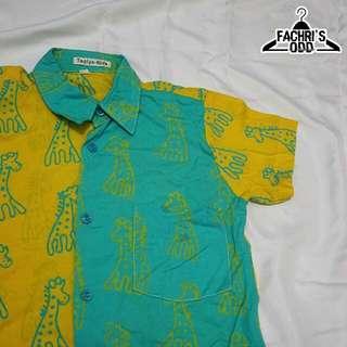 Kemeja Batik TAQIYA KIDS | size : 3 tahun
