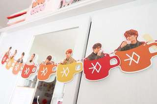 EXO Cup Bunting