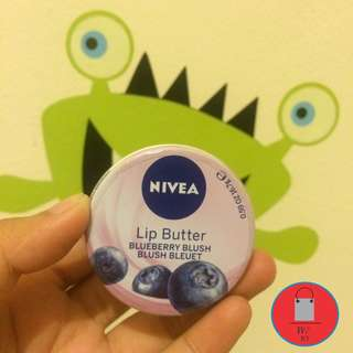 Nivea Lip Butter (blueberry blush)