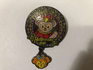 香港 迪士尼 徽章 Disney Pin  Halloween 2016 Shelliemay