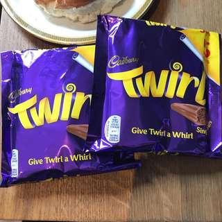 Pre-Order Cadbury Twirl (5 Bars)