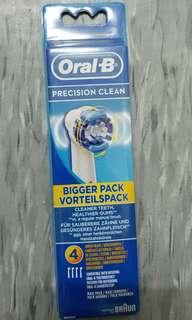 全新 Oral B 超軟毛刷頭 1pack有4個