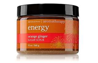 Aromatherapy by Bath and Body Works Energy Orange and Ginger Sugar Scrub