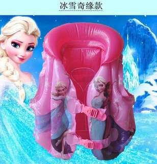 Frozen Kids Swimming Vest Inflatable
