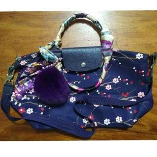 Original Longchamp Limited Edition Sakura