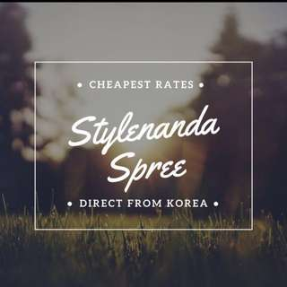 [1 DAY ONLY] Stylenanda Spree