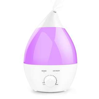 Ogima 2.8 Liter Capacity Cool Mist Aromatherapy Humidifier and 7 Color-Changing LED Lights Auto Shut Off Function Aroma Diffuser For Home Bedroom Office
