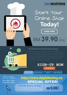 Web Hosting & Domain
