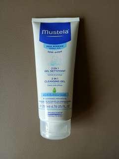 Mustela 2-in-1 Cleansing Gel 200ml