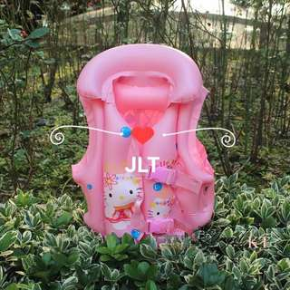 Hello Kitty Swimming Vest Inflatable