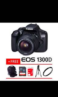 100% Original Canon eos 1300D kit
