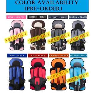 ITEM HAS TO GO!!! Baby's / Child's Safety Seat LELONG SALES