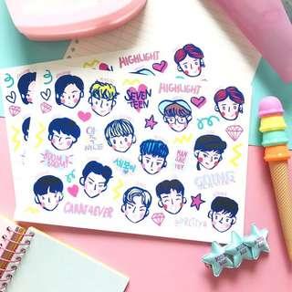Going seventeen Sticker