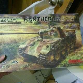 全新坦克模型未開