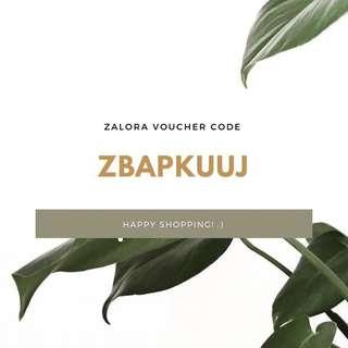 Zalora Promo / Discount Code