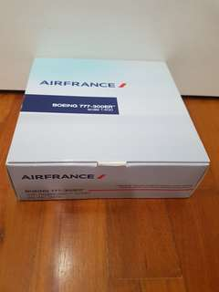 Air France Airplane Model
