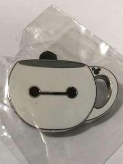 香港 迪士尼 徽章 Disney Pin Game Pin 水杯  Baymax