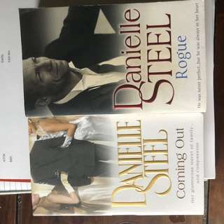 Read only once. 2 Danielle steel for $10.00